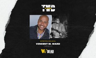 arte com Vincent M. Ward e Oscar para comemorar os 10 anos de The Walking Dead