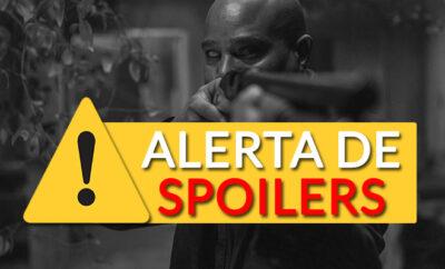 gabriel armado no 16º episódio da 10ª temporada de The Walking Dead