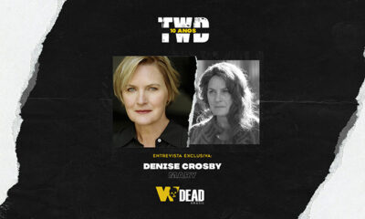 arte com Denise Crosby e Mary para comemorar os 10 anos de The Walking Dead