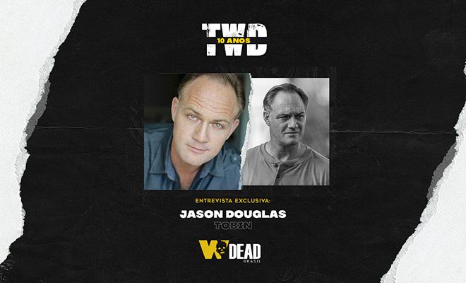 arte com Jason Douglas e Tobin para comemorar os 10 anos de The Walking Dead