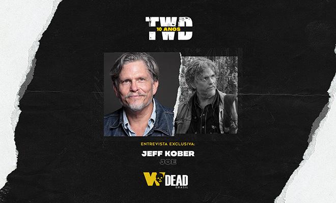arte com Jeff Kober e Joe para comemorar os 10 anos de The Walking Dead