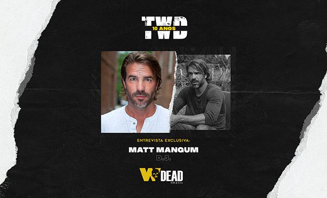 arte com Matt Mangum e D.J. para comemorar os 10 anos de The Walking Dead