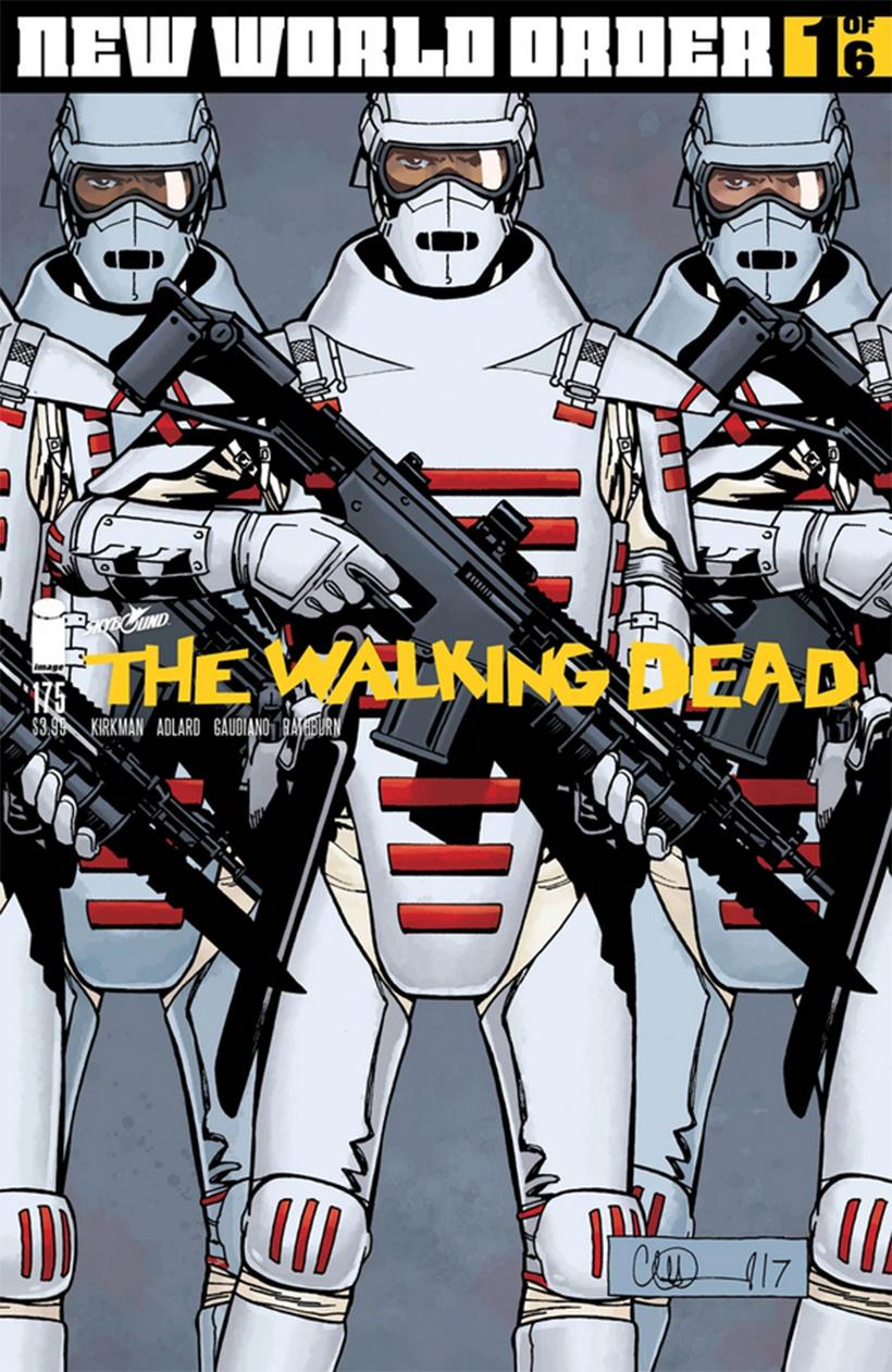 Capa da edição 175 da HQ de The Walking Dead