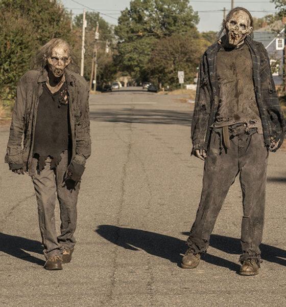 Os Vazios (zumbis) em imagem de The Walking Dead World Beyond