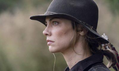 Maggie observando em imagem do 17º episódio da 10ª temporada de The Walking Dead