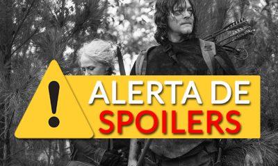Daryl e Carol juntos na floresta em imagem do episódio Find Me da 10ª temporada de The Walking Dead
