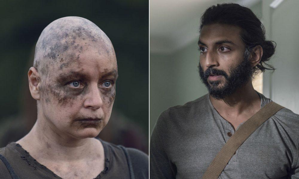 Alpha e Siddiq estampam a montagem da lista com todas as mortes que aconteceram na 10ª temporada de The Walking Dead