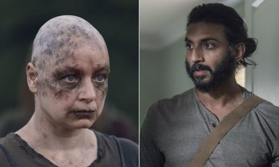 Alpha e Siddiq estampam a montagem da lista com todas as mortes que aconteceram na 10ª temporada de The Walking Dead