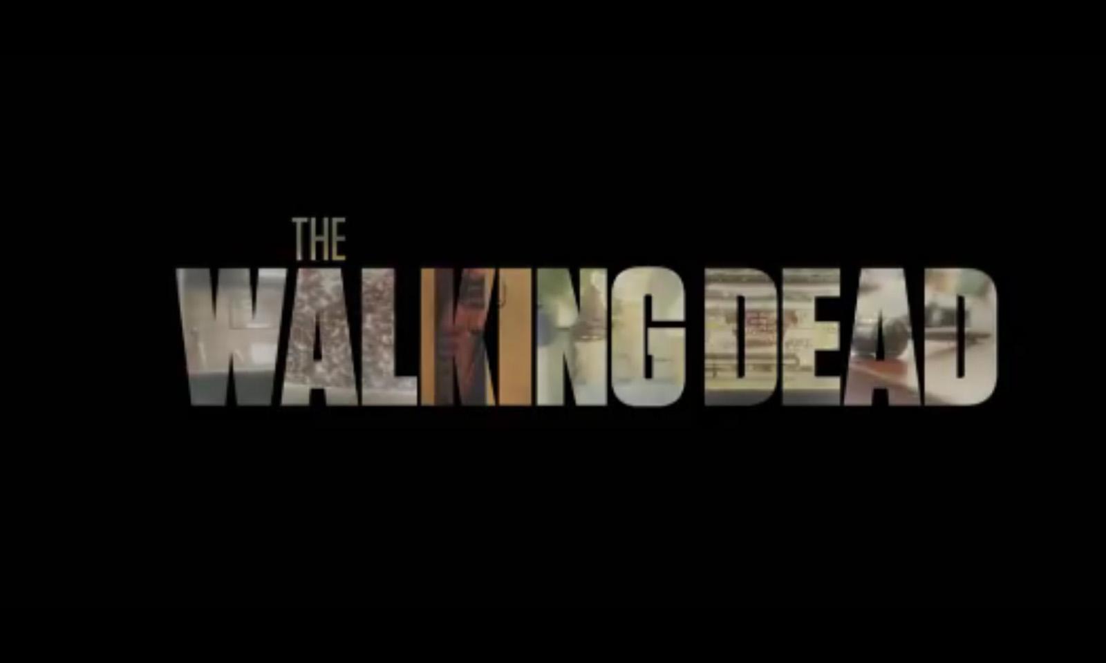 Logo da 11ª temporada de The Walking Dead com algumas cenas chaves dos novos episódios mostrado no teaser.