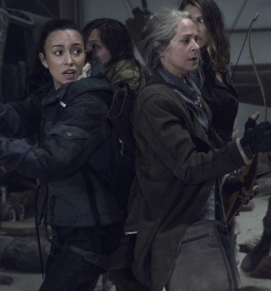 Carol, Rosita, Maggie e Lydia em imagem do episódio de estreia da 11ª e última temporada de The Walking Dead