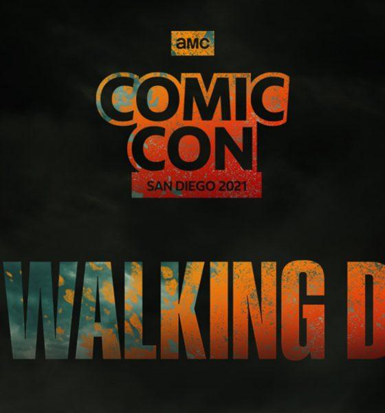 Arte de The Walking Dead para a San Diego Comic Con 2021