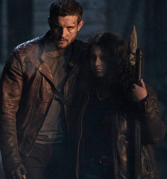 Felix e Iris em imagem do último episódio da 1ª temporada de The Walking Dead World Beyond