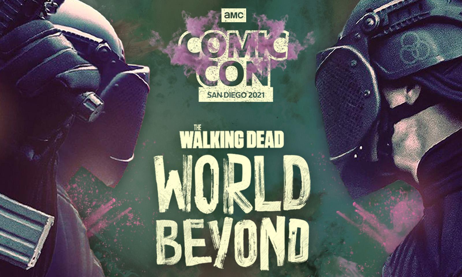 Arte de The Walking Dead: World Beyond para a San Diego Comic Con 2021