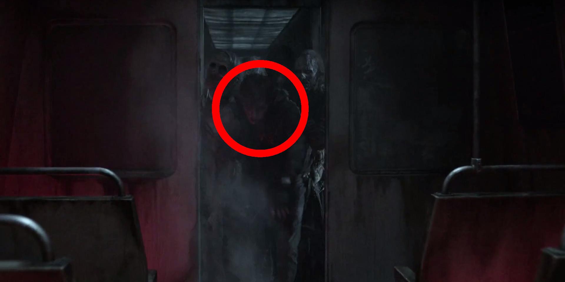 "Gage zumbificado no episódio ""Acheron: Part II"" da 11ª temporada de The Walking Dead"
