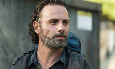Andrew Lincoln como Rick Grimes em imagem da 8ª temporada de The Walking Dead