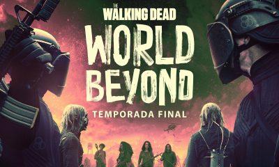Hope, Iris, Elton e Silas contra os soldados da CRM no pôster da 2ª e última temporada de The Walking Dead: World Beyond