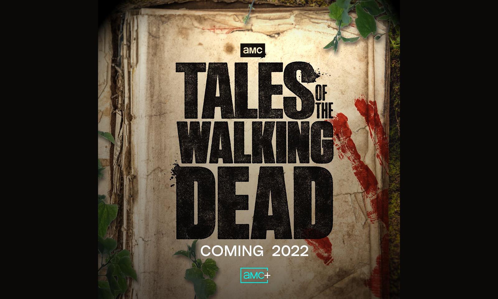 Logo oficial de Tales of the Walking Dead divulgado pelo AMC nas redes sociais.