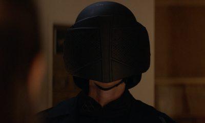 Jadis utilizando a roupa de soldado da CRM na cena pós-créditos do episódio 5 da 2ª temporada de The Walking Dead: World Beyond.